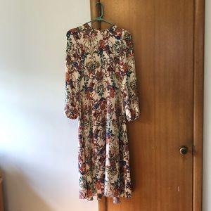 Very lightweight floral dress